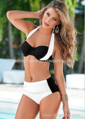 Wholesale 2016 Women Sexy Bikini Set Vintage Brazilian Swimwear Swimsuit