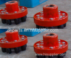 Coupling of sand pump