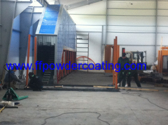 Powder Coating Plant For The Fence