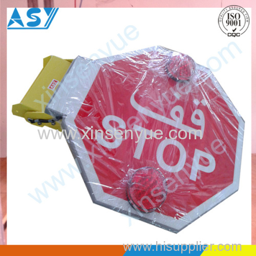 stop arm sign on school bus from china manufacturer xiamen