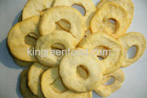 dehydrated apple rings a grade
