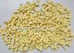 dehydrated apple dices 10x10mm high moisture