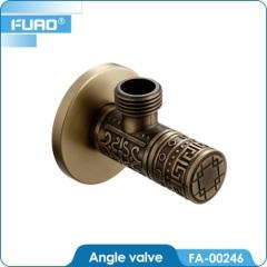 Antique Economic round brass angle valve