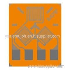 Miniature Three-element 60 Degree Delta Single-plane Rosette Pattern Strain Gauge CF120-1CD-B