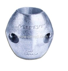 Anode for shaft in zinc+al