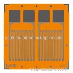 Parallel Dual-grid Pattern Strain Gauge CF350-2FB