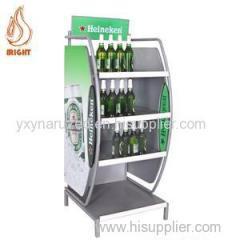 Metal Beer Display Rack