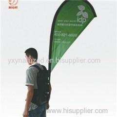 Backpack Sharkfin Banner For Promotion
