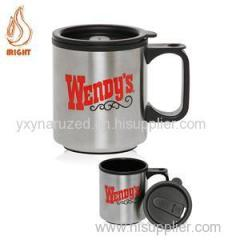 Printed Stainless Steel Travelling Coffee Mug For Promotion