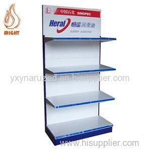 Metal Lubricating Oil Display Rack