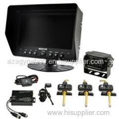 BR-TPMS1 TPMS Integrate Rearview System With Internal Sensor