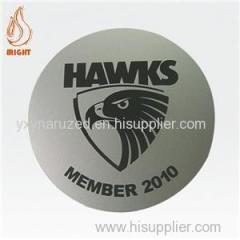 Custom Printed Logo Metal Coaster