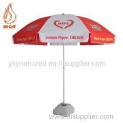 Wind-proof Beach Umbrella For Advertising