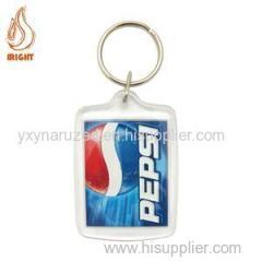 Best Selling Custom Logo Plastic Key Chain