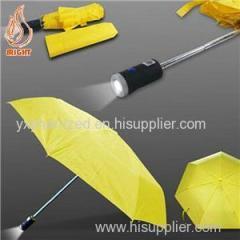 Custom Logo LED Torch Umbrella For Promotion