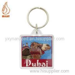High Quality Plastic Custom Logo Key Chain