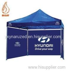 Metal Pop Up Printed Gazebo Tent For Advertising