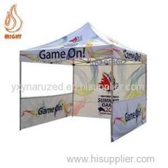 Aluminum Folding Commercial Gazebo Will Wall