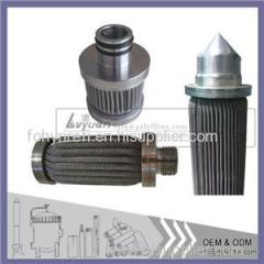 Sintered Stainless Steel Pleated Filter
