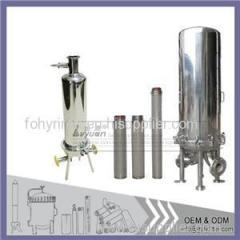 Cartridge Filter Housing For Titanium Filter
