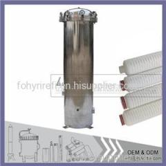 Cartridges Filter Housing For Pleated Filter