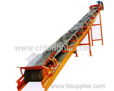 belt conveyor in crushing plant