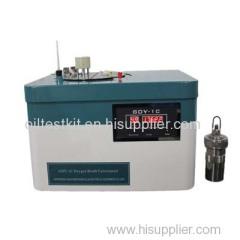Automatic Oxygen Bomb Calorimeter for Measuring Calorific Value