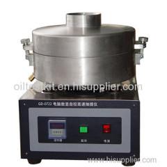 Centrifugal Extractor Bitumen Content in Bituminous Mixture Tester