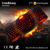 Best selling colorful led gaming keyboard