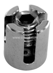 Wire Cross Clamp AISI316 Closed Base