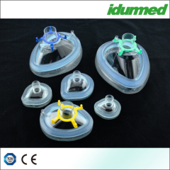 Injectable air cushion Mask W/HOOK Valve