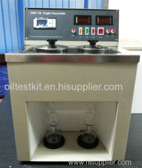 Double Units Digital Engler Viscosity Meter Engler Viscosity Apparatus for Oil