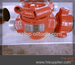 "2"" x 10000psi wellhead high pressure plug valve"