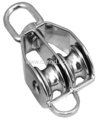 Pulley AISI316 With Swivel and Becket