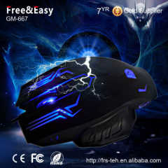 DPI 2400 usb wired gamer mouse