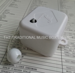 Rotate Device Pull Rope Musical Box