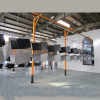powder coating system for metal furniture