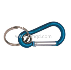 ALUMINIUM SNAP HOOK WITH KEY RING