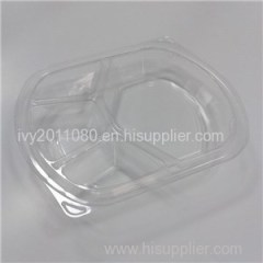 Compartment Plastic Salad Box