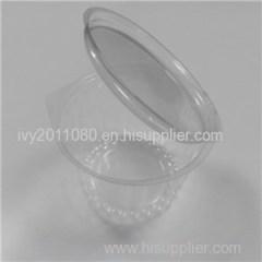Round Plastic Salad Box