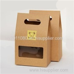 Paper Food Box With Handle