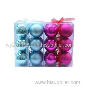 Christmas Ball PVC Packaging Box