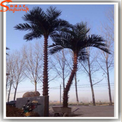 Artificial ornamental palm tree palm tree plants for outdoor