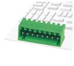 plug-in terminal blocks Pins
