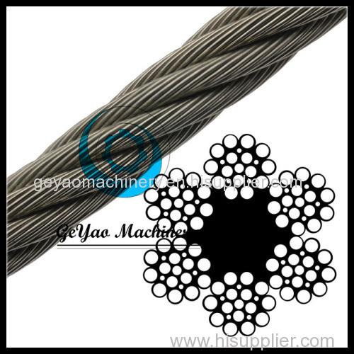 Bright Wire Rope Drill Line - Fiber Core 6x21(Linear Foot ...