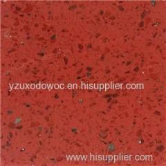 Silver Red Quartz Stone