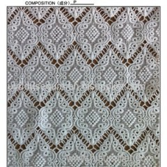 White Polyester Lace Fabric By The Yard(S8096)