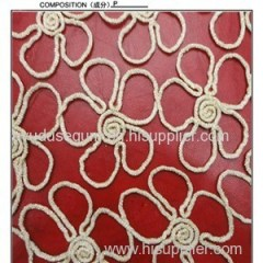 Chemical Lace Embroidery Fabric/wedding Embroidery Lace Fabric (S8006)