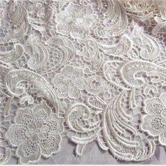 Latest African Water Soluble Lace Fabric (S8003)