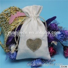 Organic Cotton Makeup Bag